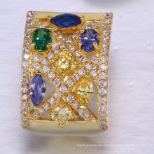 joyería plateada oro al por mayor de la fábrica para las mujeres