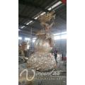 Escultura de dragón de bronce de escultura de metal de alta calidad