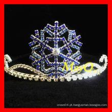 Coroa bonito do desfile do floco de neve para miúdos