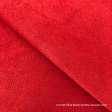 tissu à tricoter en daim scuba teints unis polyester spandex