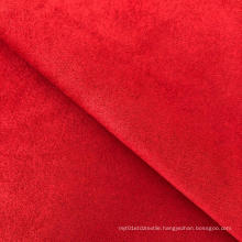 Polyester spandex plain dyed scuba suede fabric