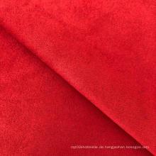 Polyester Spandex glatt gefärbt Scuba Wildleder Strickstoff
