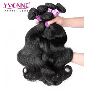 Cabelo humano da onda do corpo do cabelo do Virgin peruano