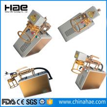 Grabadora de láser de fibra para plata de oro de cobre