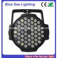 2015 guangzhou lighting factory price 54pcs x 3w dj light disco light led par38
