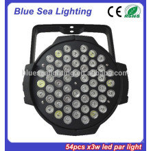 2015 hotsale 54pcs x 3w led par 64