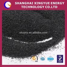 China gold supplier pó preto alundum para lixa, papel abrasivo