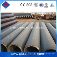 Lista de produtos de exportação preto sch40 astm a106 tubo de aço sem costura