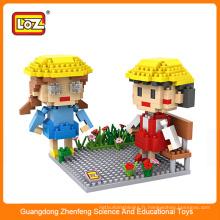 Loz bloc de diamants, les enfants éclairent les jouets en brique, les blocs de construction jouent pour les enfants