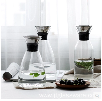 Heat-Resistant Glass Cold Water Pitcher 1.5 L