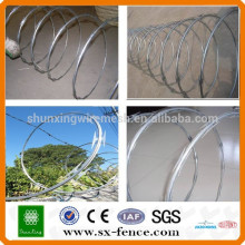 Anping Factory Cheap razor wire prison fence