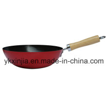 Utensilios de cocina Mini Wok chino para el mercado europeo Utensilios de cocina