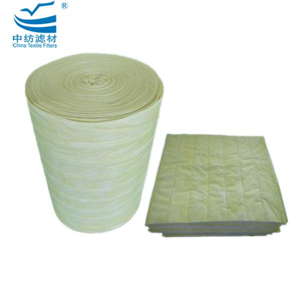 Non Woven Synthetic Bag Pocket Filter Fabric