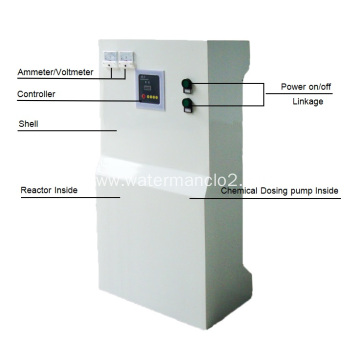 mini chlorine dioxide making plant with High Conversion