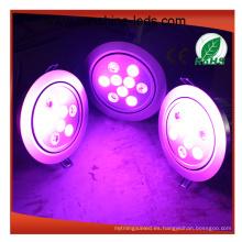 Cubierta redonda / cuadrada de LED Downlight