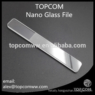 Nano Crystal Glass Nail File - Buffer Shiner Polisher Manicure Tool for Natural Nail Baby Care
