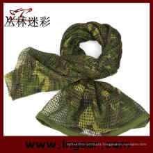 Multifunctional Tactical Scrim Airsoft Scarf Wrap Headwear Scarf