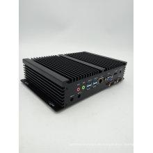Hoch zuverlässiger, lüfterloser, lärmfreier, energieeffizienter, robuster industrieller lüfterloser Mini-PC Windows 10 Intel Core I3