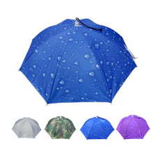A17 pequeno guarda-chuva chapéu guarda-chuva à prova de água para a pesca