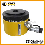 Hot 50-1000ton capacity single acting mechanical lock nut KIET series hydraulic cylinders
