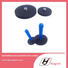 D22-D88 Neo NdFeB Neodymium Rubber Coated Magnet Base