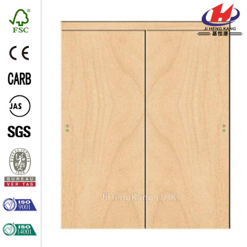 MDF Automatic Door Operator Interior Double Kitchen Swing Door