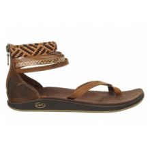 Trendy Polyester Jacquard Webbing Casual Sandals