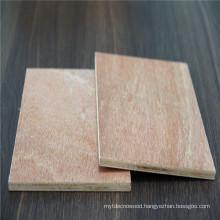 12mm okoume/bintangor/pine natural wood veneer commercial plywood board