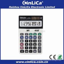 DS-20LT 12 digit office calculator scale, solar power calculator