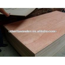 Shandong linyi 4.5mm bintangor precio de la contrachapada comercial