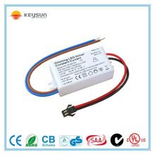 Driver de luz com lâmpada LED 7W 24v levou driver constante atual