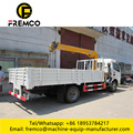 Sino HOWO 4X2 Truck with Crane for Sale