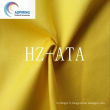 Dyed Twill Fanric 21X21 65% Polyester 35% Tissu en coton