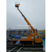Telescopic type high altitude aerial working platform truck with 28M height Insulating carrier and insulated arm