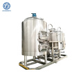 SS304 Turnkey Project 2 Vessel Brewhouse 500L Beer Brewing Equipment 1000l Brew Fermenter Beer Equipment