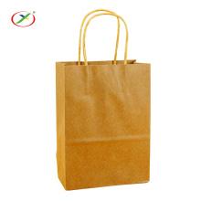 Meilleur prix emballage sac de papier kraft avec poignée