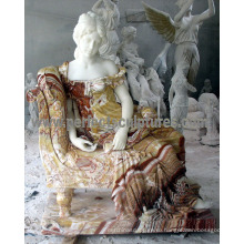 Статуя резного каменного сада для домашнего украшения (SY-C1228)