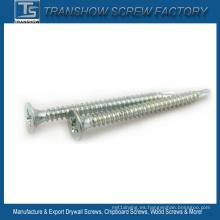 1022 Tornillos autoperforantes de acero galvanizados de la mampostería seca