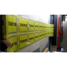 Reflective Vinyl Warning Sign Sticker