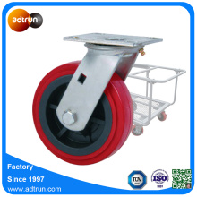 200 kg Kapacitet PU Stoke Case Casters