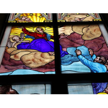 Chinese custom stained glass church windows for sale