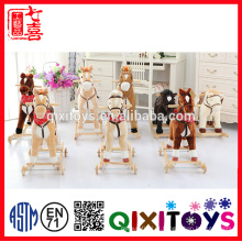 Melhor qualidade china criança sela para cavalo de brinquedo de equitação