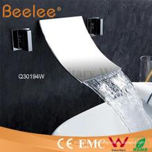 Verchromte Messing 3 PCS Wandhalterung Badewanne Wasserfall Bad Dusche Wasserhahn