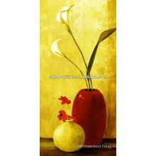 Still Life Pot with Flower Canvas Painting