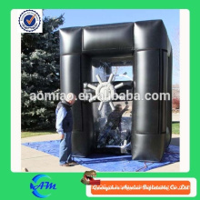 Máquina de dinheiro inflável do pano de PVC / Oxford à venda