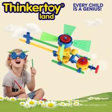 Melhor plástico educacional Melhor OEM brinquedos de avião