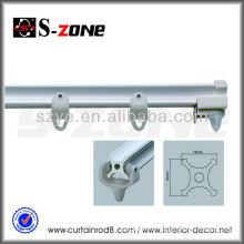 SC10 PVC Plastic Square Bending Curtain Track