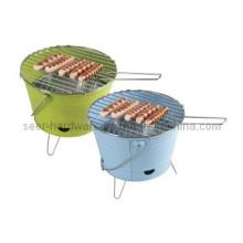 Eimer Form Holzkohle BBQ Grill, Eimer BBQ Herd