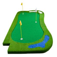 Tapis d'entraînement vert de golf artificiel personnalisé de luxe