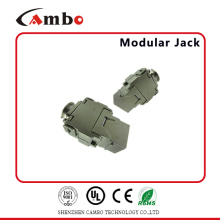 China Manufacturing FTP 180 graus Toolless RJ45 Cat6a Keystone Jack Preço competitivo